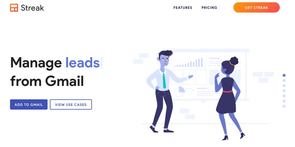 CRM intégré Gmail