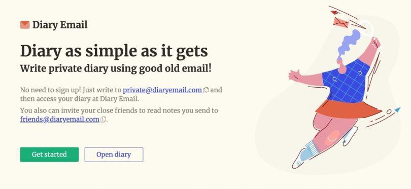 Journal intime en ligne