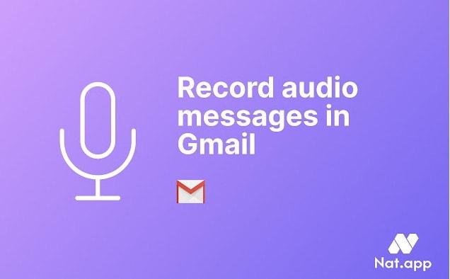 message audio