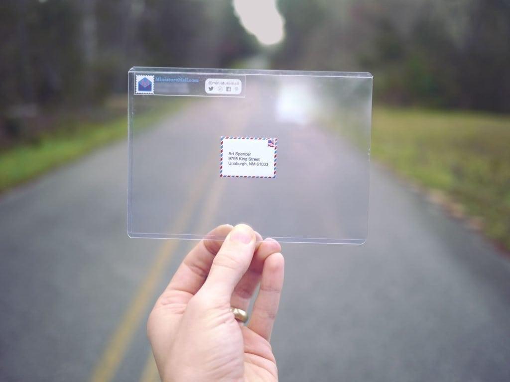 mail miniature
